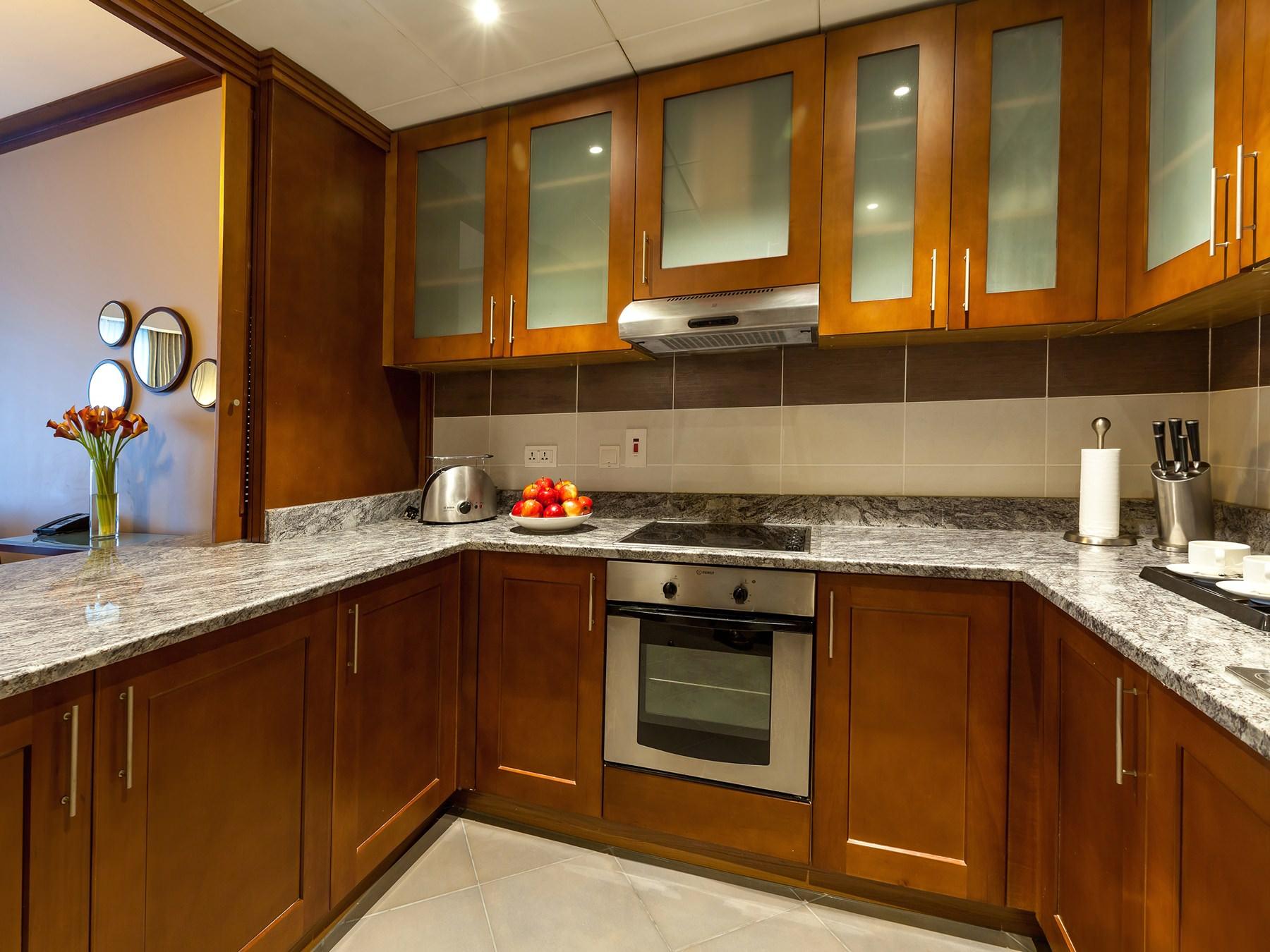 One Bedroom Privilege Kitchen
