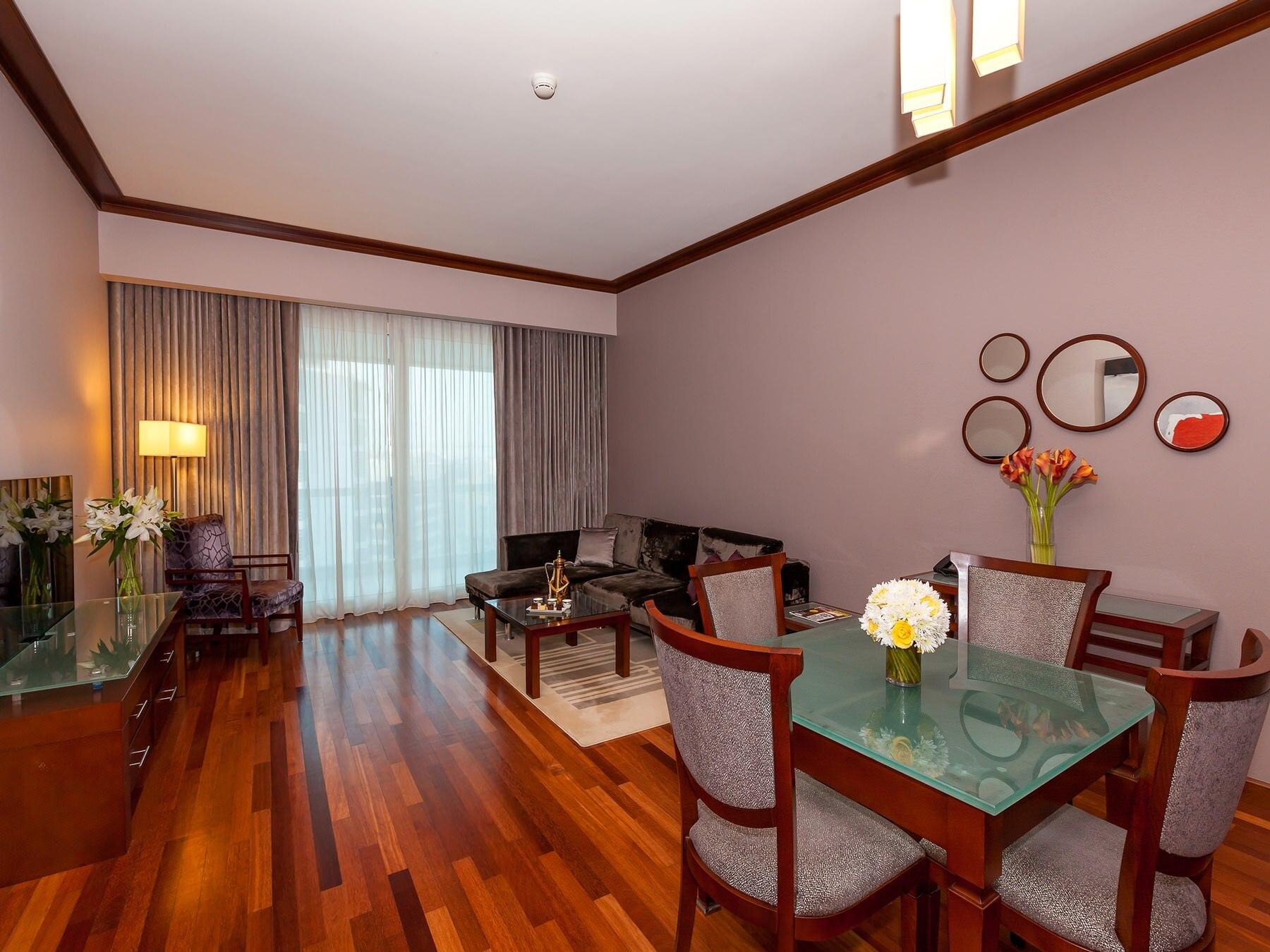 One Bedroom Privilege Living Room