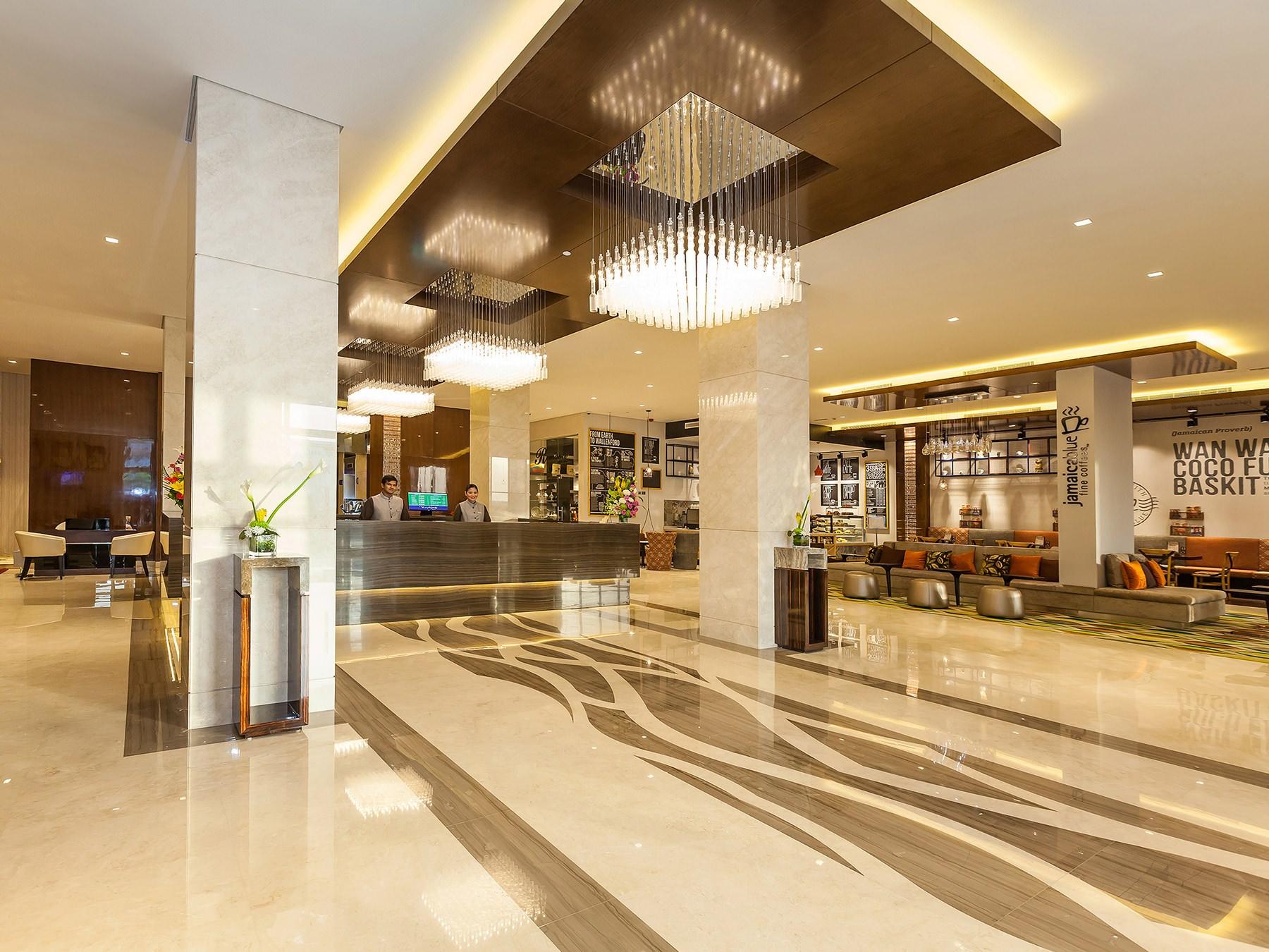 Flora Al Barsha Lobby