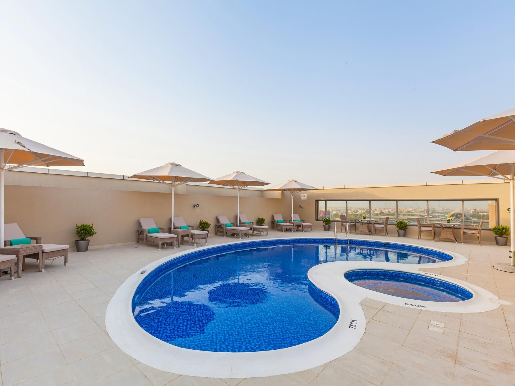 Flora Al Barsha Swimming Pool