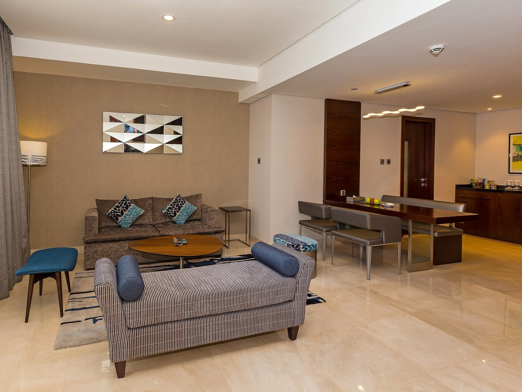 Flora Al Barsha Suite Living Room