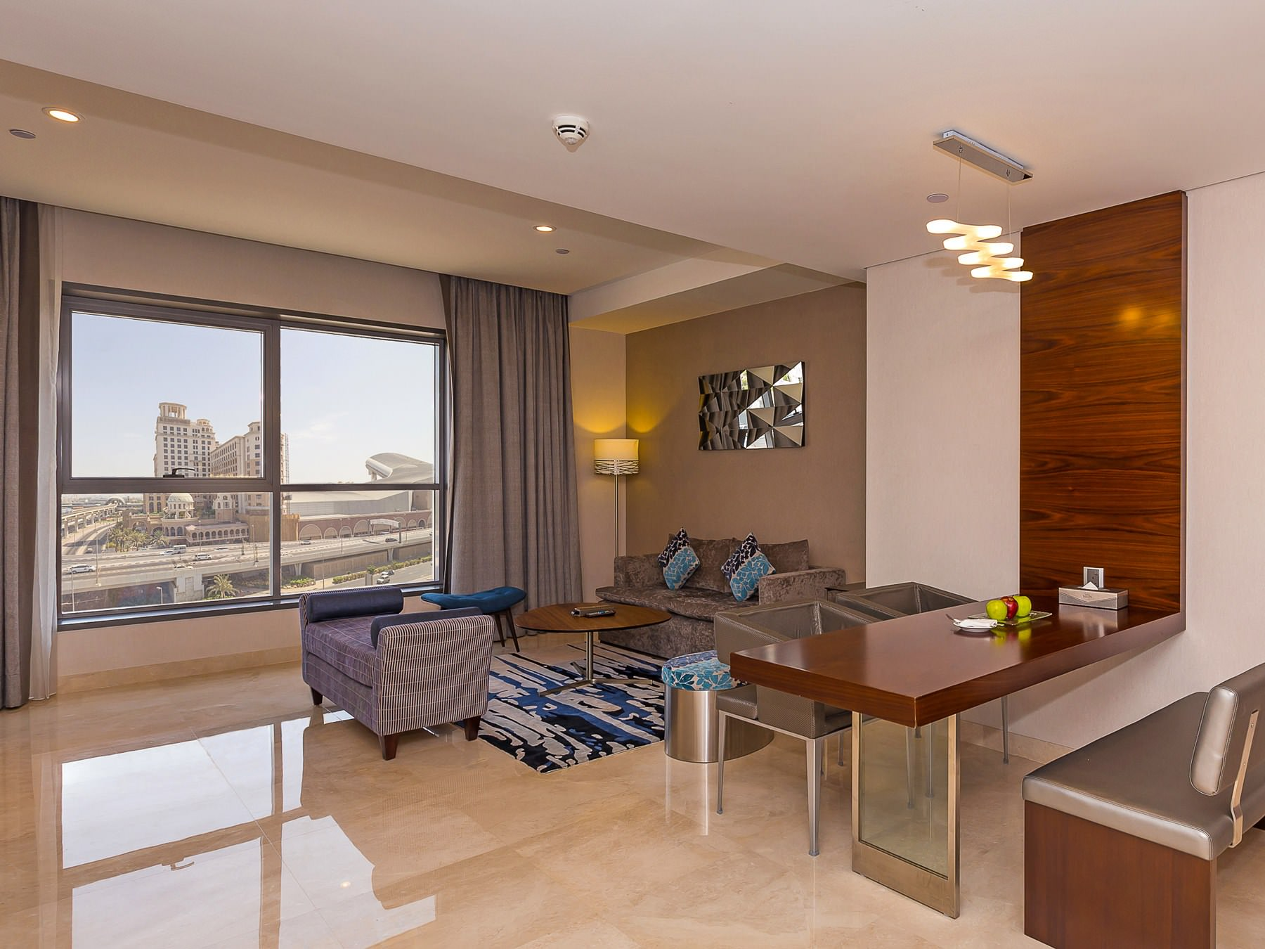 Flora Al Barsha Suite Living Room